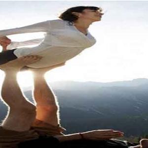 瑜伽,情侣瑜伽,瑜伽入门,瑜伽初学者,瑜伽从零开始